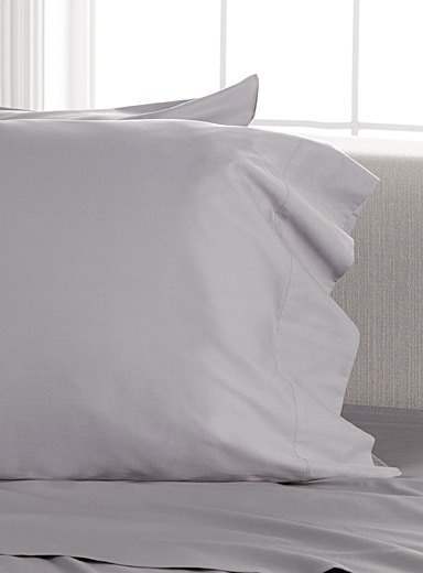 Bamboo rayon and cotton pillowcases, 300 thread count