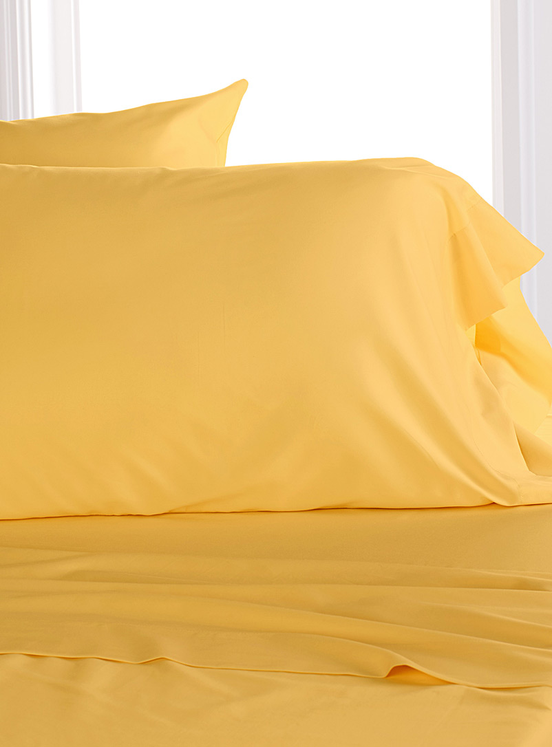 Bamboo rayon and cotton pillowcases, 300 thread count  Set of 2