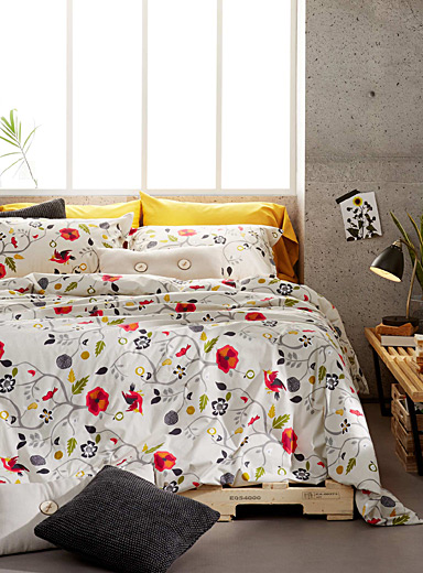 Dream garden comforter set