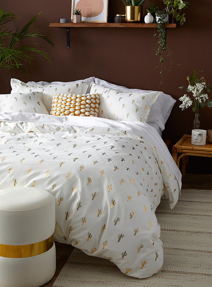 Desert duvet cover set - Duvet Covers - Ivory White