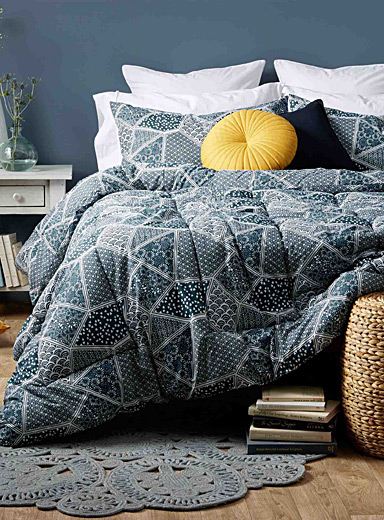 Gorgeous patchwork comforter set