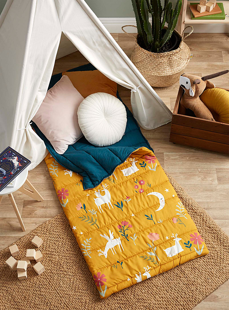 Simons Maison Golden Yellow Fantastic garden sleeping bag  70 x 175 cm