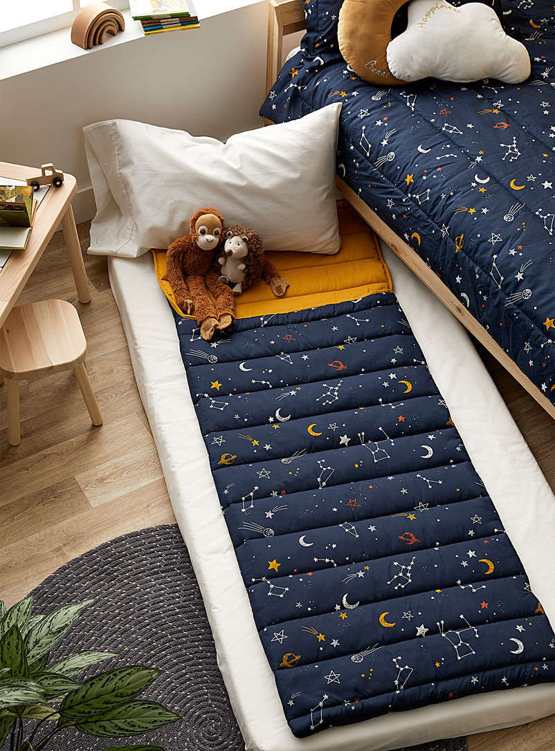 Simons Maison Assorted Luminous galaxy sleeping bag 70 x 175 cm