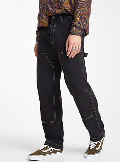 Topstitch worker pant