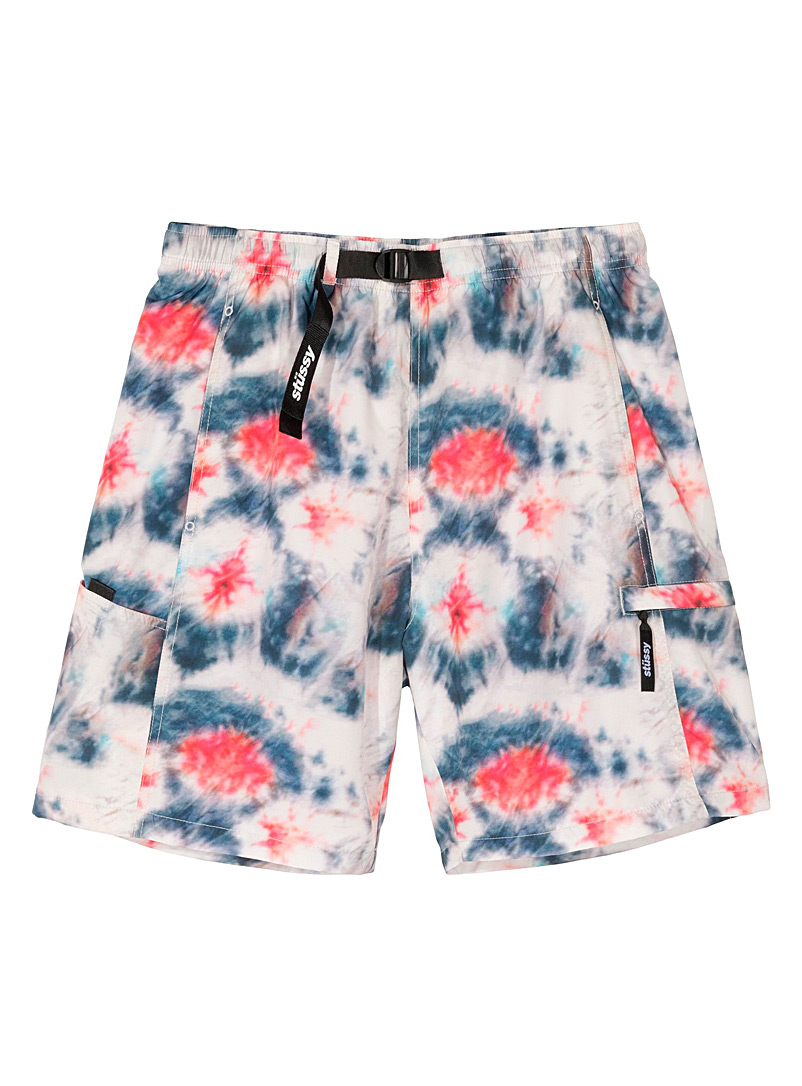 Stüssy Assorted Tie-dye sports short for men