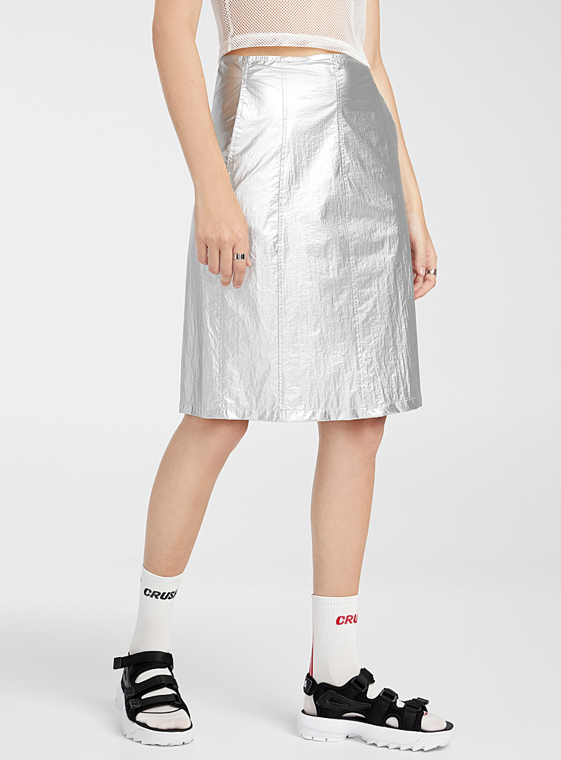 Stüssy Assorted Metallic midi skirt for women