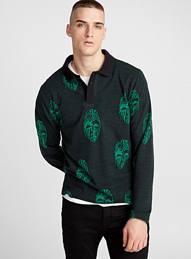 Masks long-sleeve polo