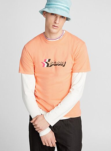 Orange 3-star T-shirt