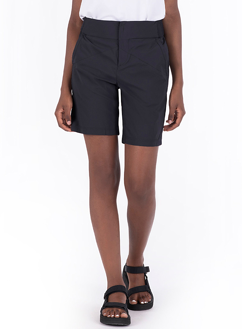 Indygena Black Safar stretch safari short for women