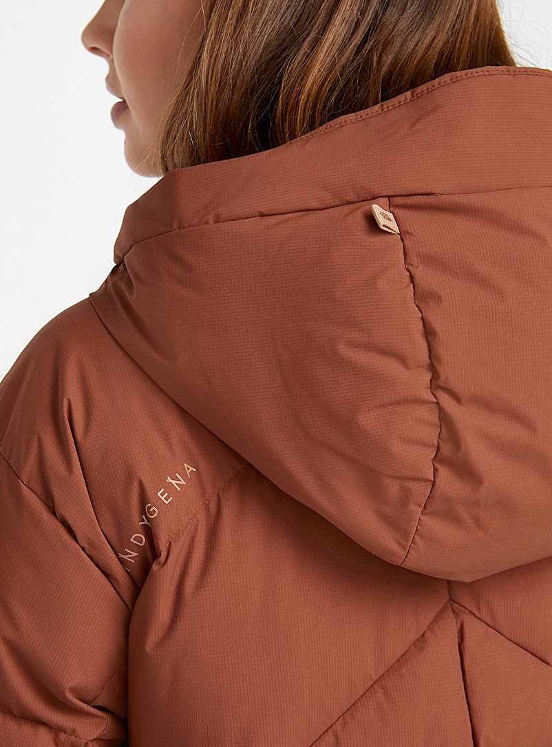 Indygena Toast Elina puffer coat  Long fit for women