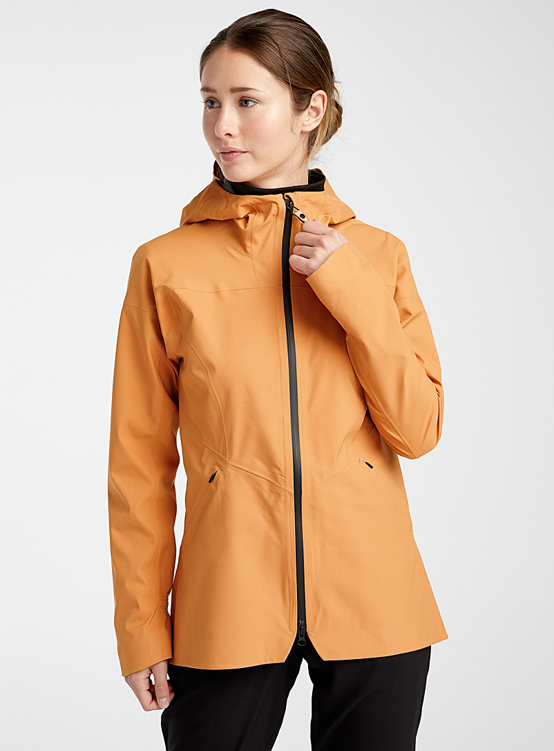Indygena Toast Isla shell coat for women