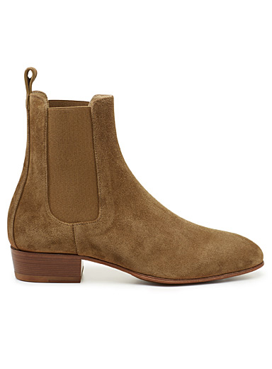 Cigaro suede Chelsea boots