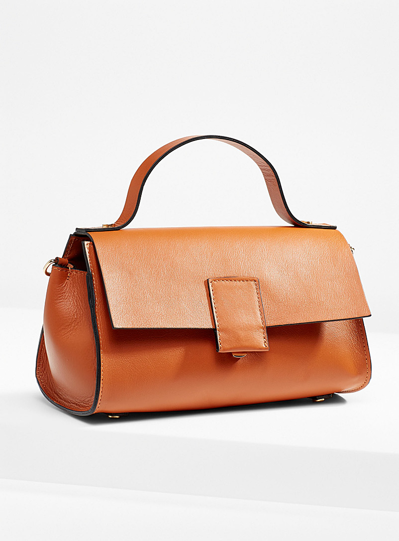Simons Fawn Satchel-style baguette bag for women