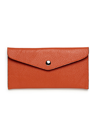 Thin envelope wallet
