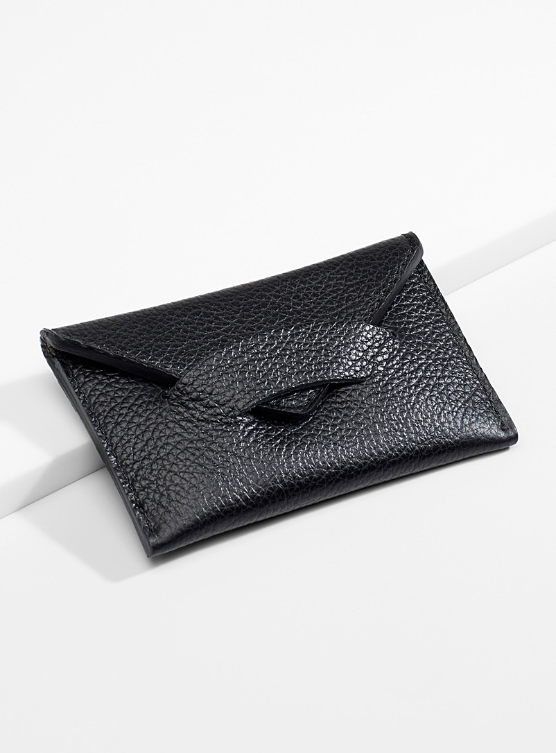 Envelope wallet - Wallets - Black