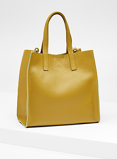 Small structured tote and clutch