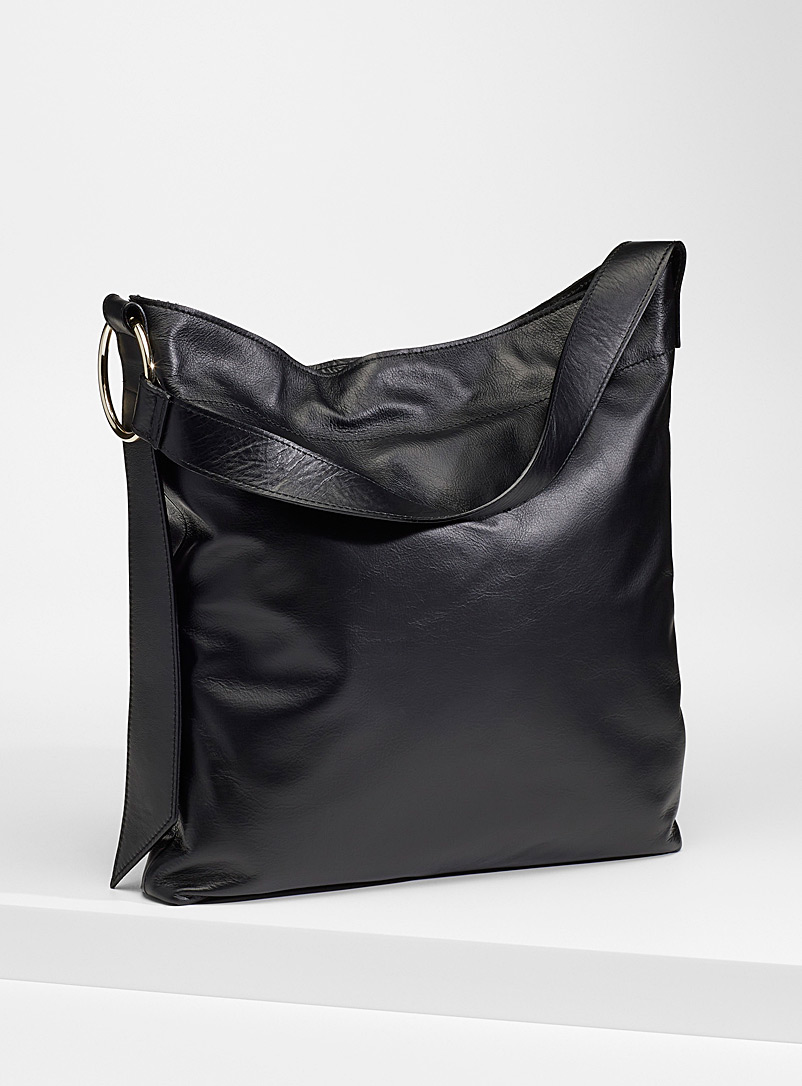 Simons Oxford Slim leather tote for women