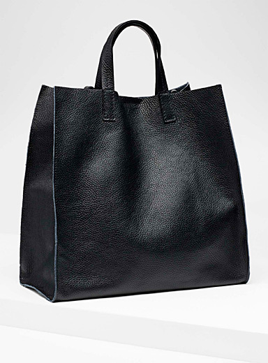 Structured tote and clutch