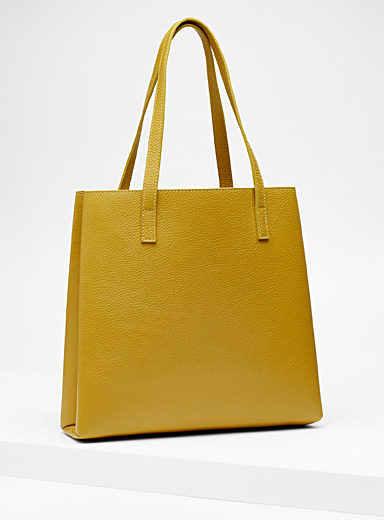 Slim tote and clutch
