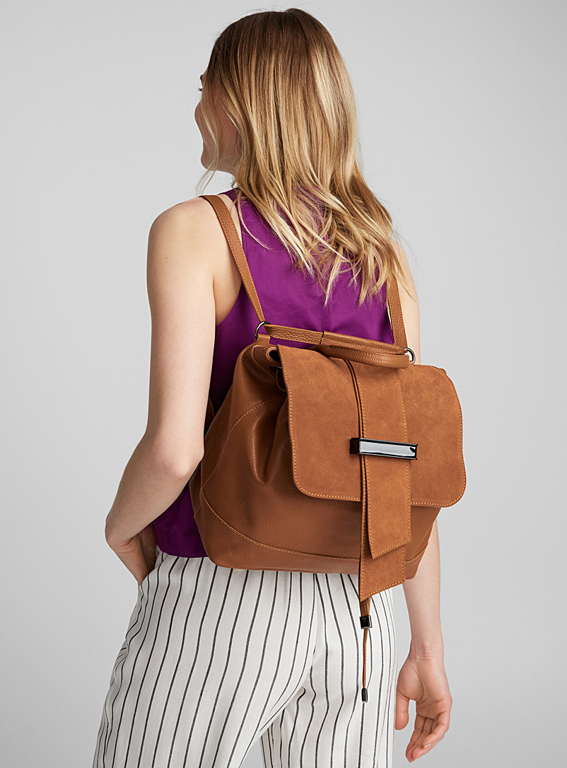 solid-suede-and-leather-backpack