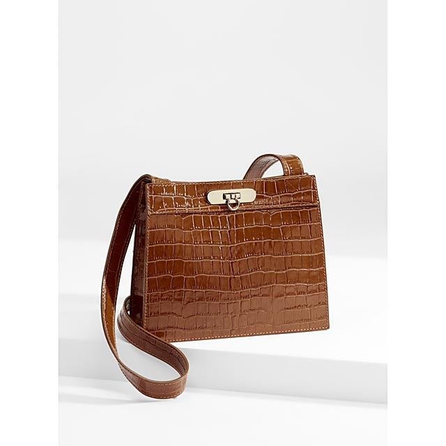 faux-croc-leather-shoulder-bag