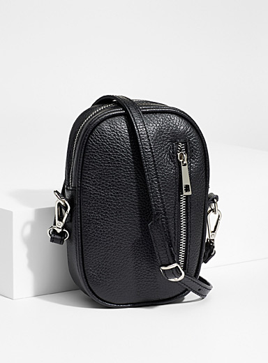 Simons Black Bubble shoulder bag for women