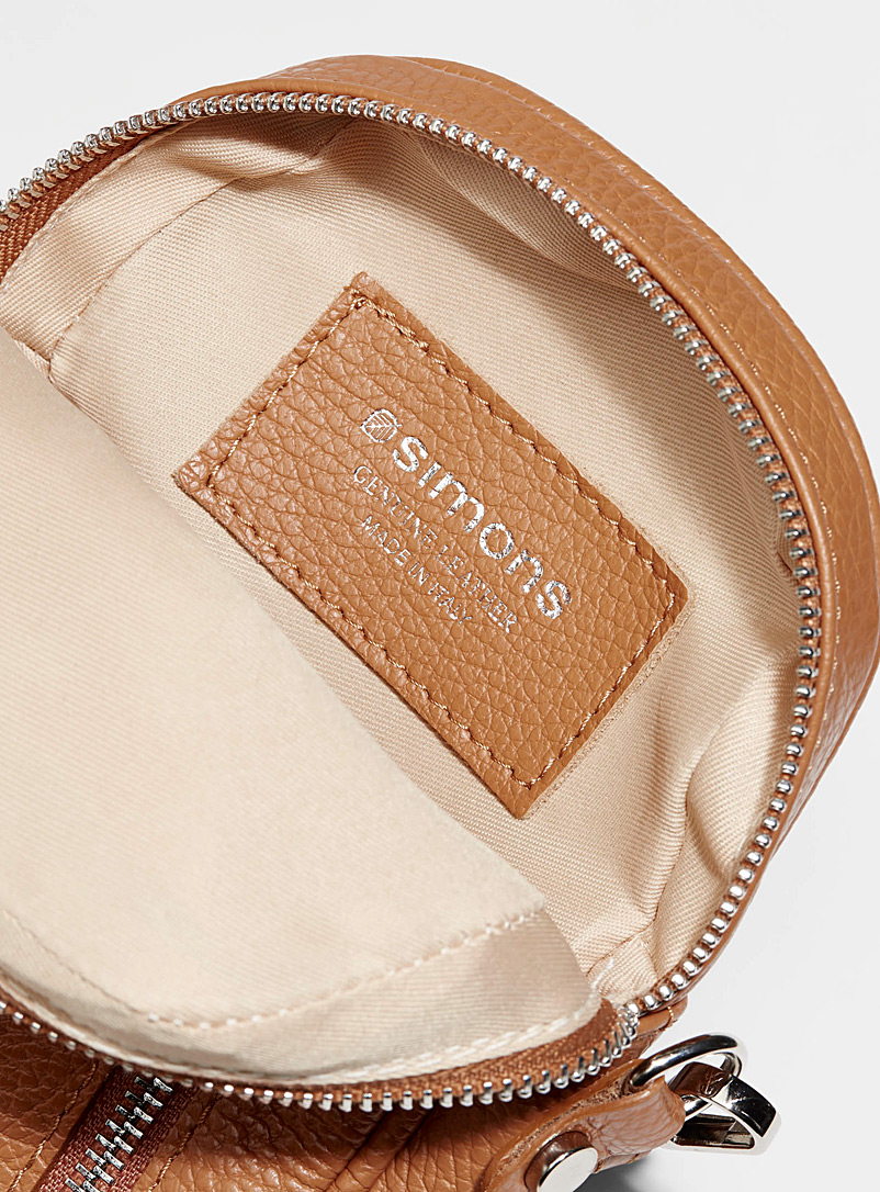 Bubble shoulder bag - Clutches and Minaudieres - Caramel
