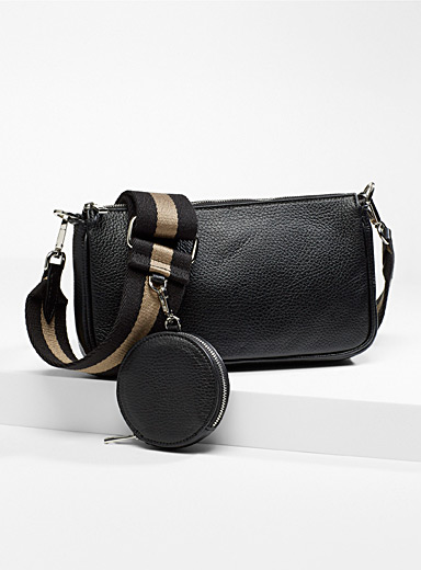 Leather clutch and coin purse