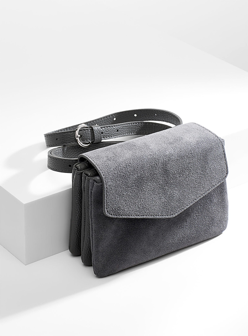 Triple belt bag - Belt Bags - Grey
