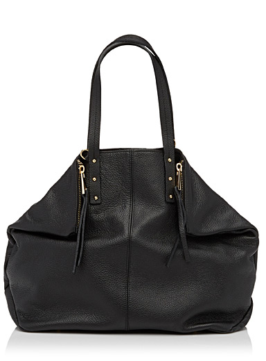 Ultrasoft leather tote