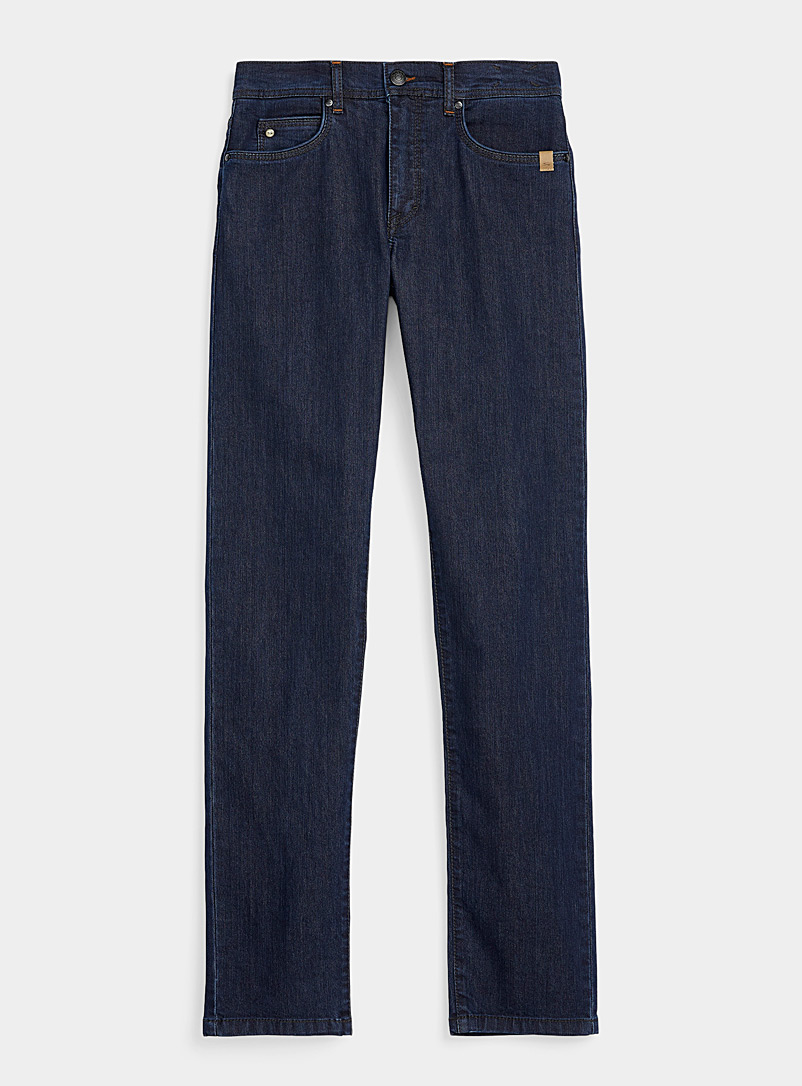 Sand Marine Blue Burton stretch jean for men
