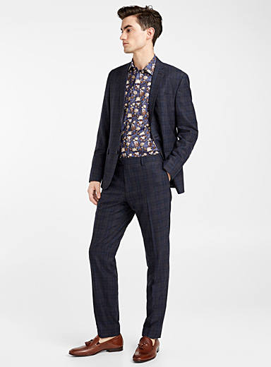 Sherman Brandon check suit