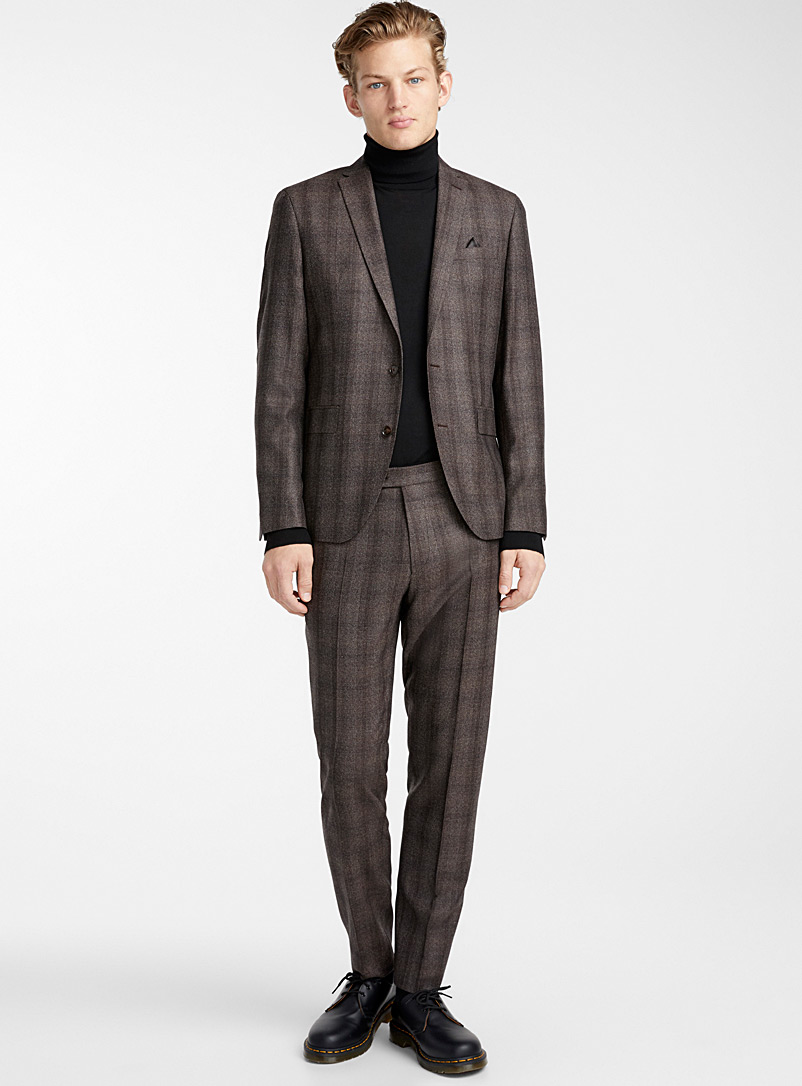 Sherman suit - Sand - Patterned Brown