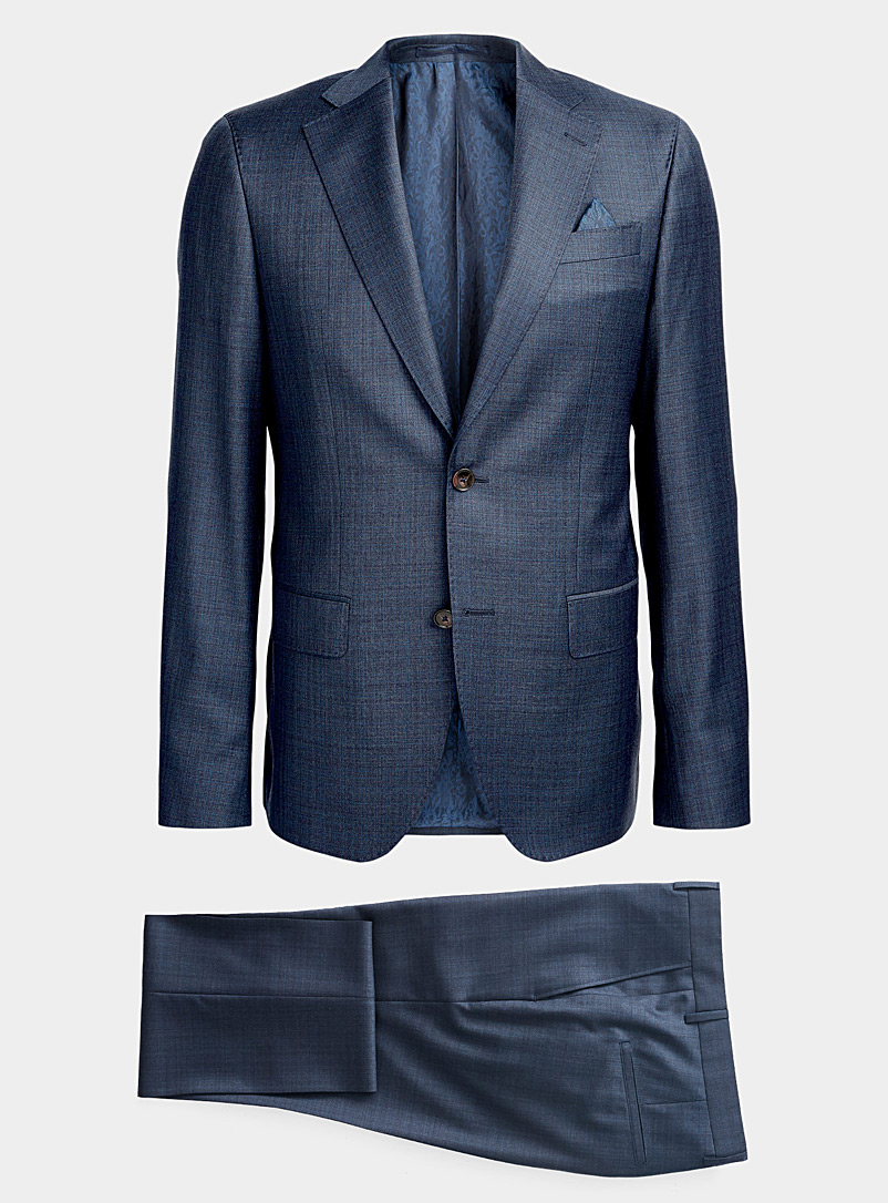 Sand Marine Blue Star Napoli Craig suit for men