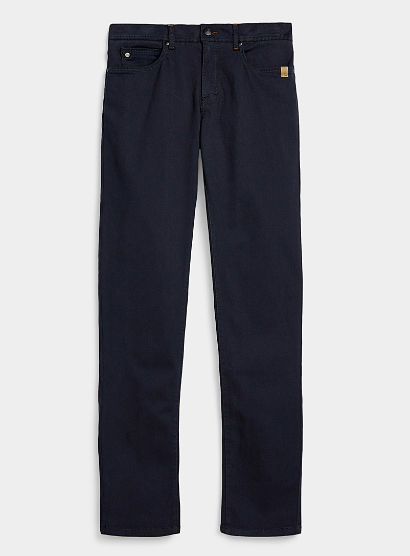 Sand Marine Blue Burton chinos for men