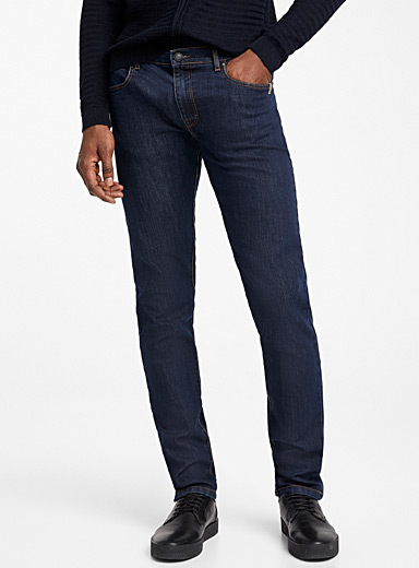 Sand Dark Blue Burton Stretch jean for men