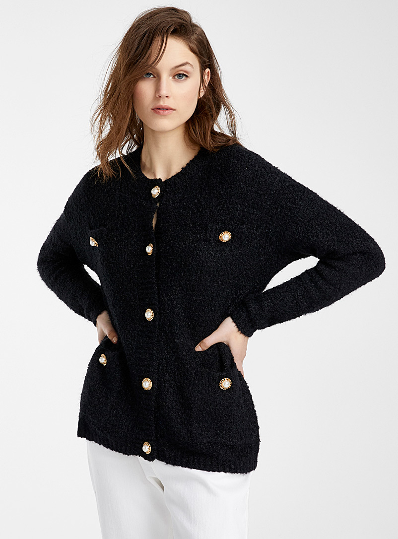 le-cardigan-boucle-boutons-perles