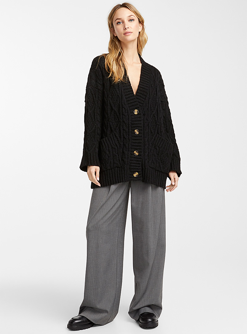 le-cardigan-ample-cables-relief