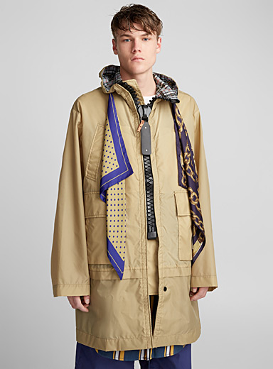 Large Zip parka