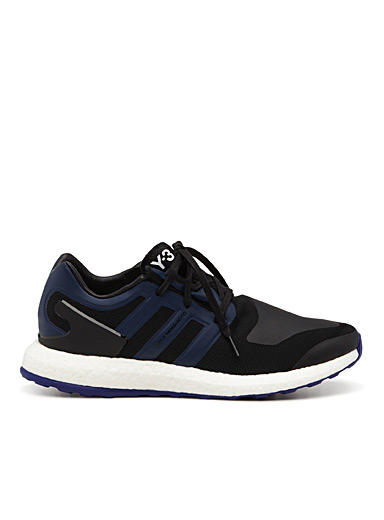 Y-3 PureBoost blue accents sneaker