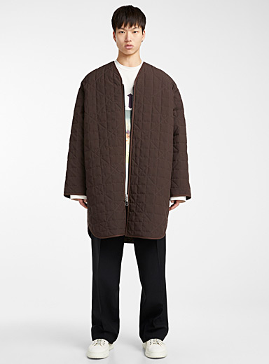 Pike quilted coat