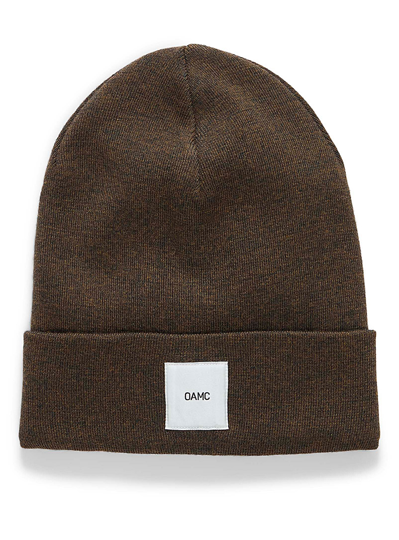 OAMC Patterned Green Watchcap tuque for men