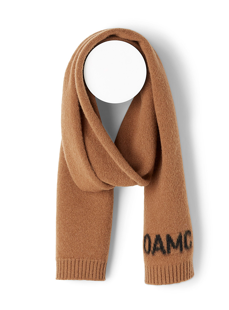 OAMC Honey Whistler scarf for men
