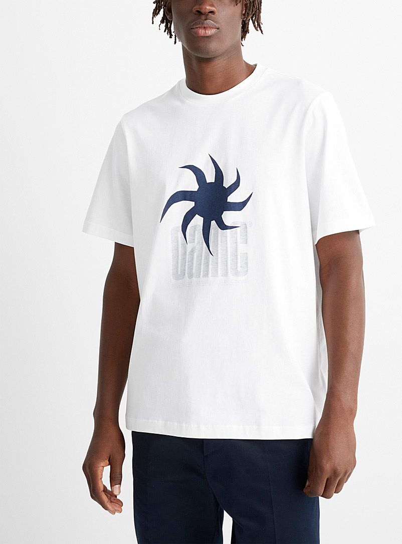 OAMC White Sun print T-shirt for men