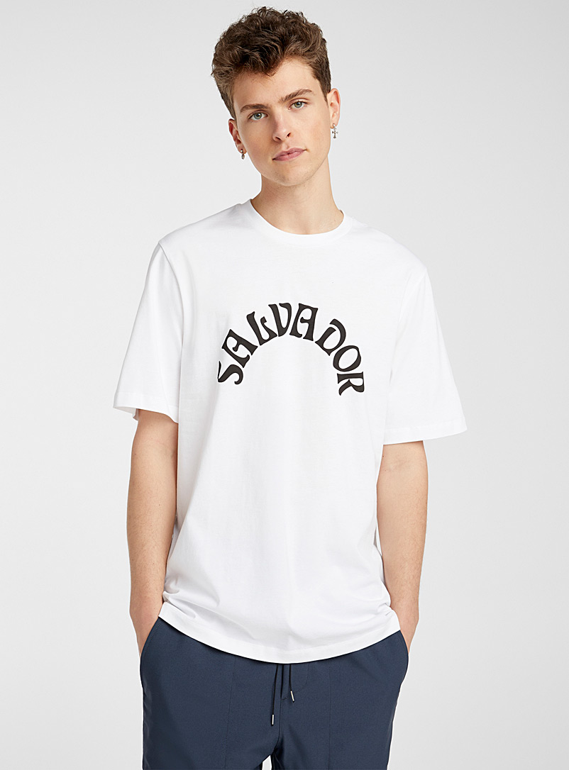 OAMC White Salvador tee for men