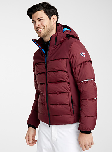 Solid Superfusion insulated jacket <br>Regular fit