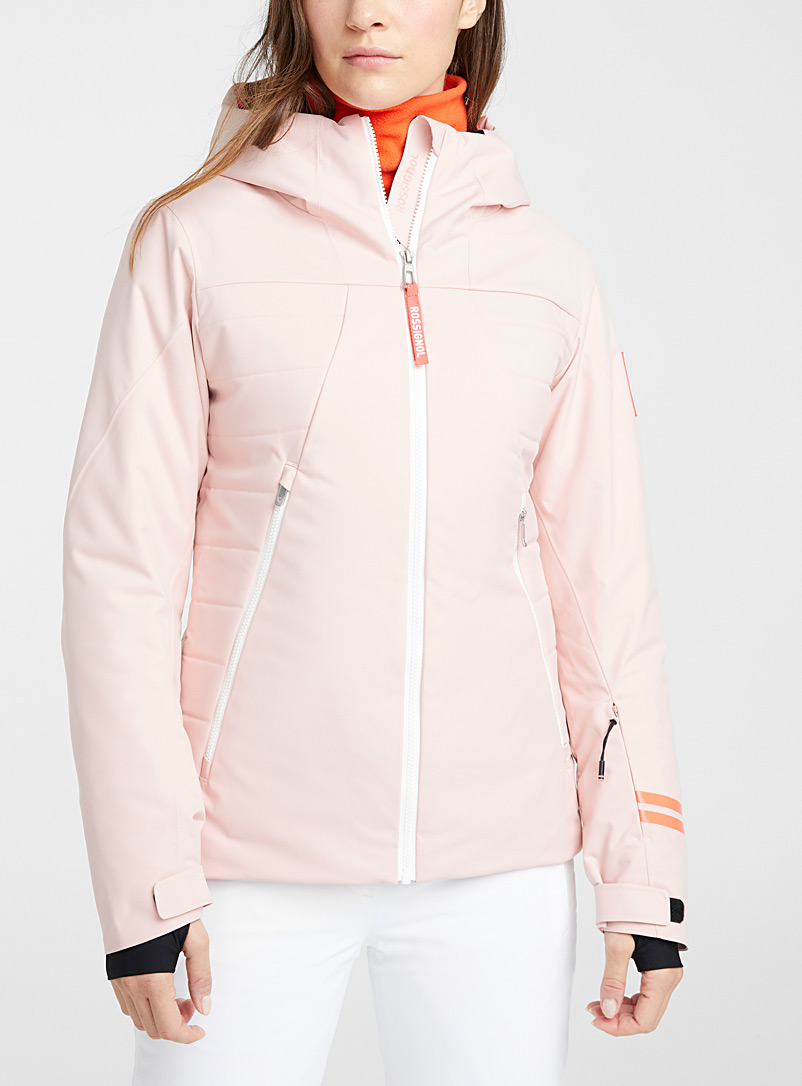 Rossignol Pink Fonction Ride Free coat  Regular fit for women