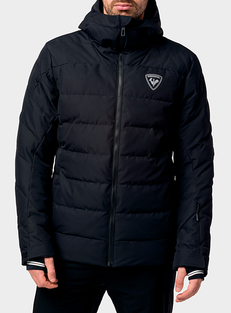 Rossignol Black Rapide insulated jacket  Regular fit for men
