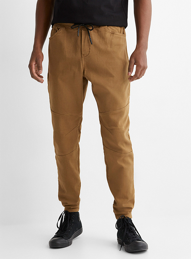 Le 31 Fawn Eco-friendly ergonomic joggers for men