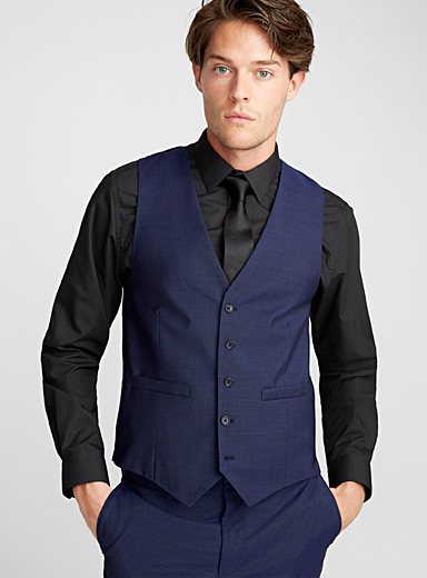 Marzotto end-on-end vest  Semi-slim fit